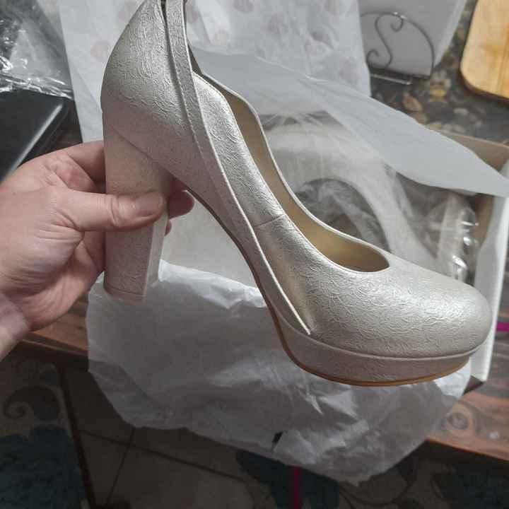 Tengo mis zapatos de novia 😍 - 2