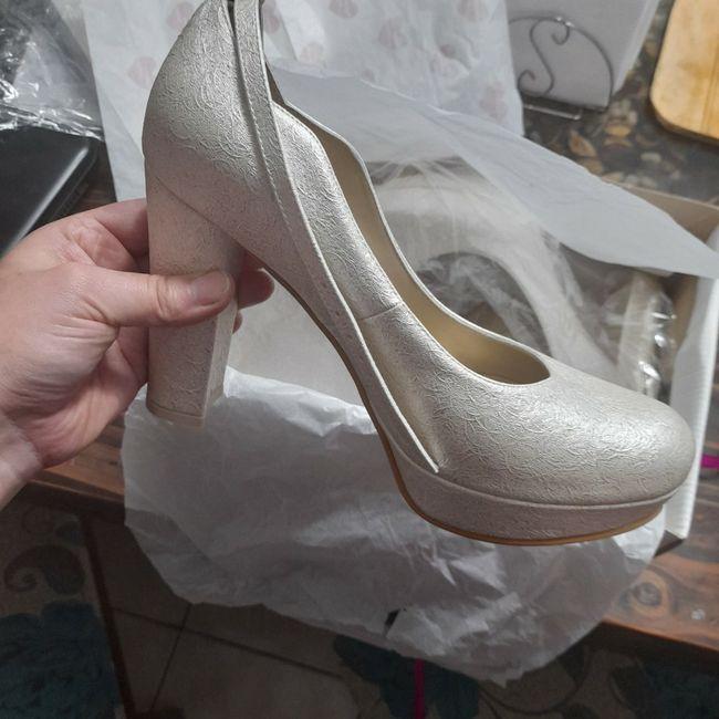 Tengo mis zapatos de novia 😍 2