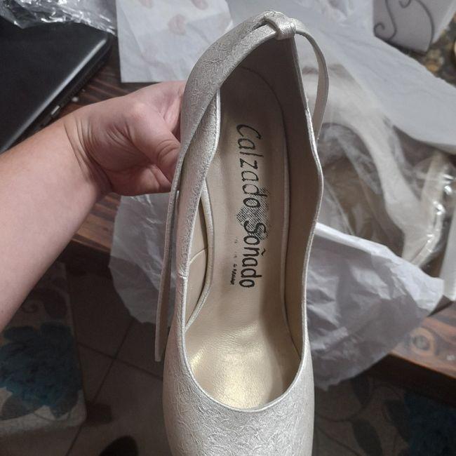 Tengo mis zapatos de novia 😍 3
