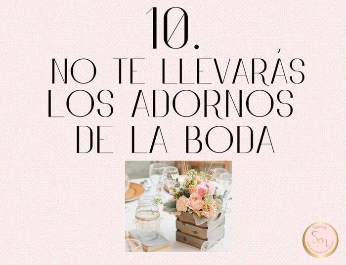 Los 10 mandamientos para los invitados a una Boda 👰🤵 11