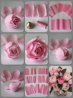 12 ideas para hacer flores de papel para decorar 💐 1