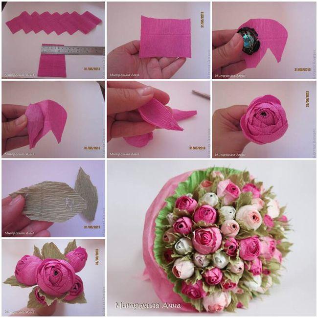 12 ideas para hacer flores de papel para decorar 💐 3
