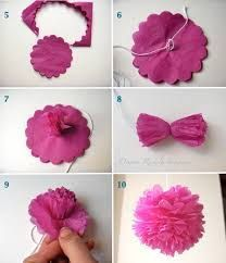 12 ideas para hacer flores de papel para decorar 💐 4