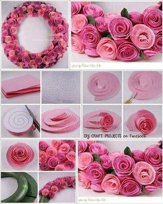 12 ideas para hacer flores de papel para decorar 💐 5