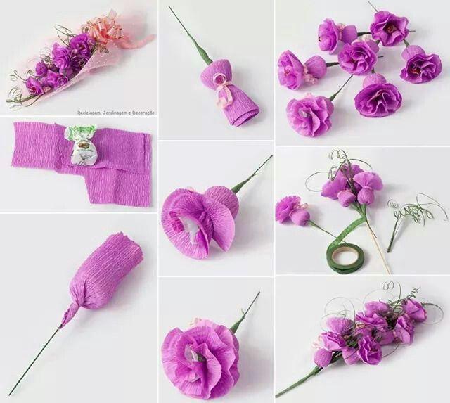 12 ideas para hacer flores de papel para decorar 💐 6
