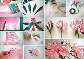 12 ideas para hacer flores de papel para decorar 💐 7