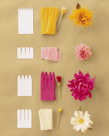 12 ideas para hacer flores de papel para decorar 💐 8