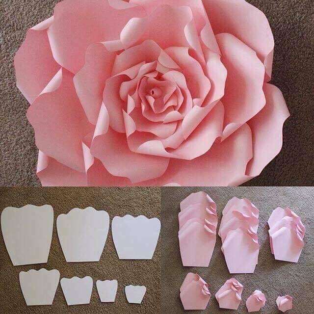 12 ideas para hacer flores de papel para decorar 💐 10