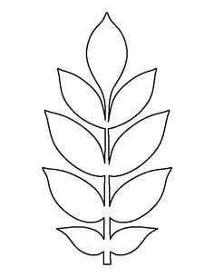 Moldes para Flores de papel ❤️ - 2