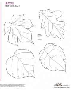 Moldes para Flores de papel ❤️ - 4