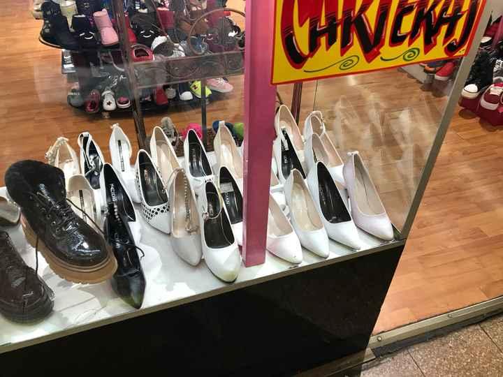 Dato zapatos de novia Blancos - 1