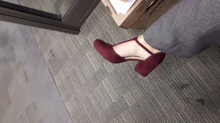 Zapato Burdeo