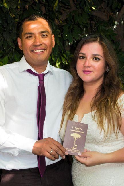 Ya casada y muy feliz 1