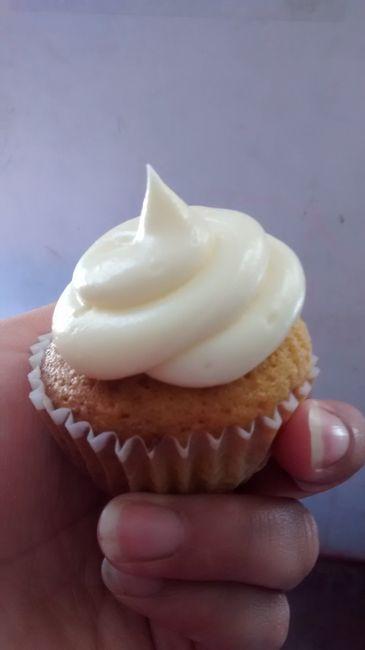 Muestra de mis cupcakes - 1