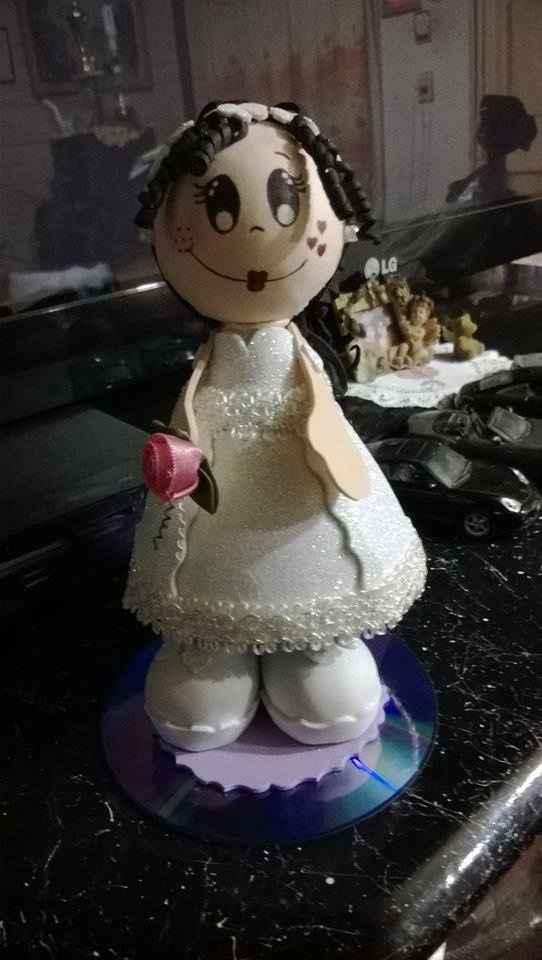 Vota por tu preferido: Estilo de figurita para tortas - 1