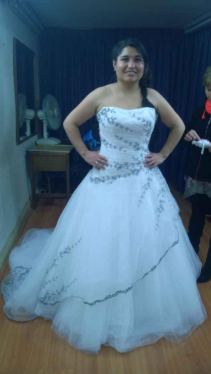 1ra prueba de mi vestido.. - 1