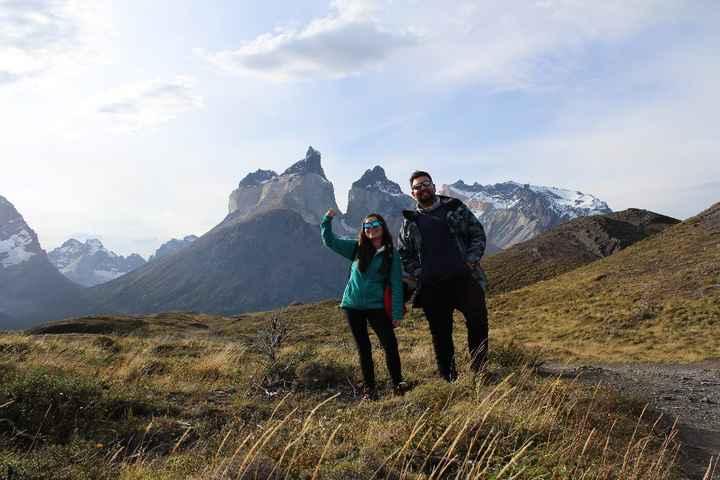 En Parque Nacional Torres del Paine