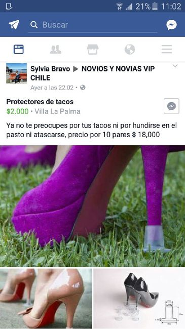 Protectores de tacos. dato f3c0bb794b9