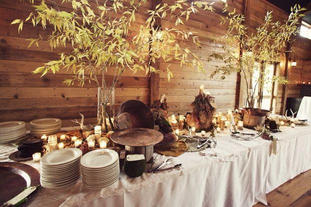Buffet Rustico Matrimonio : Buffet rústico fotos matrimonios cl