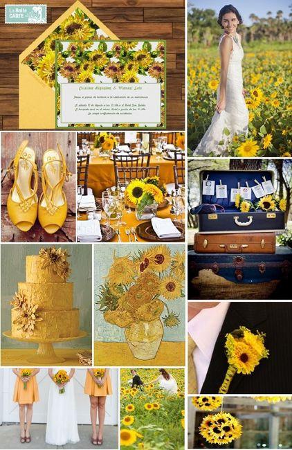 boda rustica amarrillo