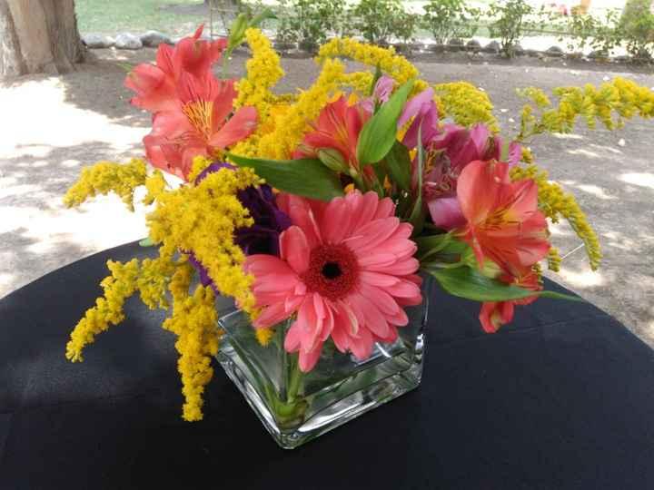 Decoración camprestre: Flores - 1