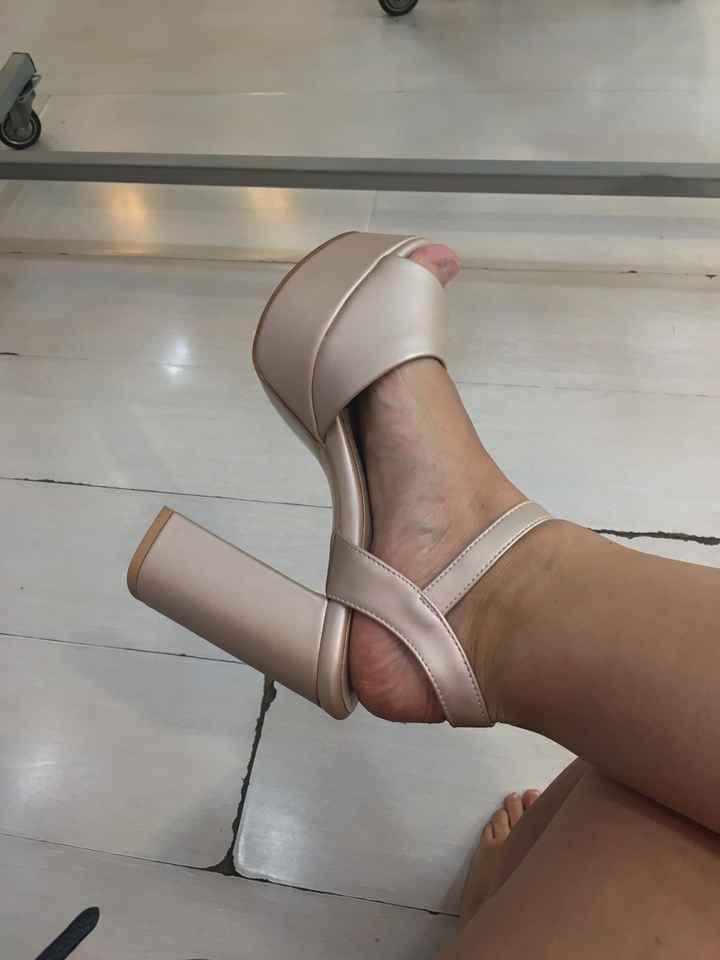 ¿Qué taco prefieres para tus zapatos de novia?  👠 - 1