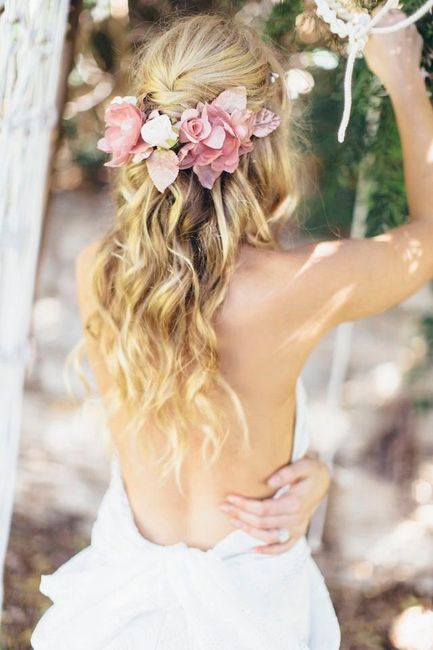Corona y tocados de flores naturales!! - 4