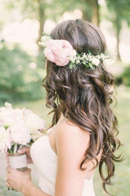 Corona y tocados de flores naturales!! - 6