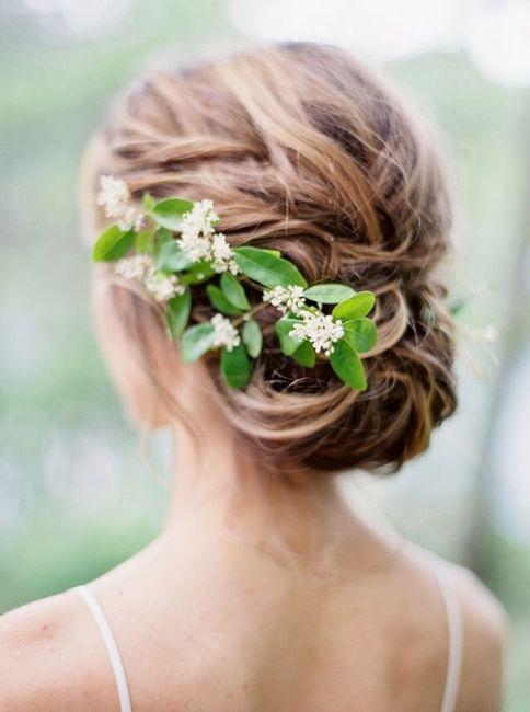 Corona y tocados de flores naturales!! - 7