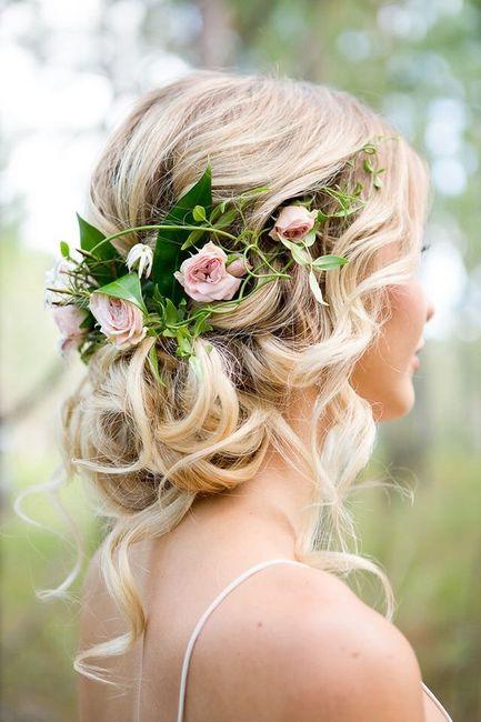 Corona y tocados de flores naturales!! - 8
