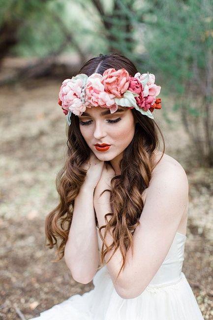 Corona y tocados de flores naturales!! - 9