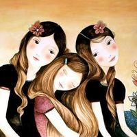 Madre, hermanas o amigas importantes - 1