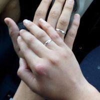 dayra, nuestros anillos de compromiso