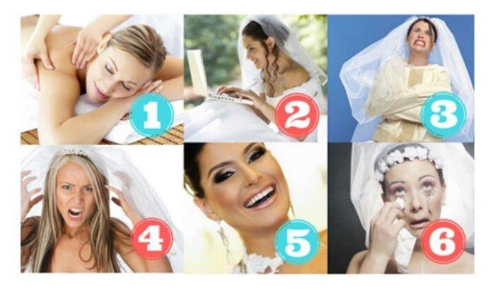 En la escala de novias ¿como te sientes hoy? 1