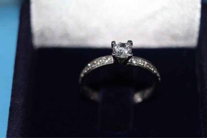 ¿A quién le mostraste primero tu anillo de compromiso? - 1