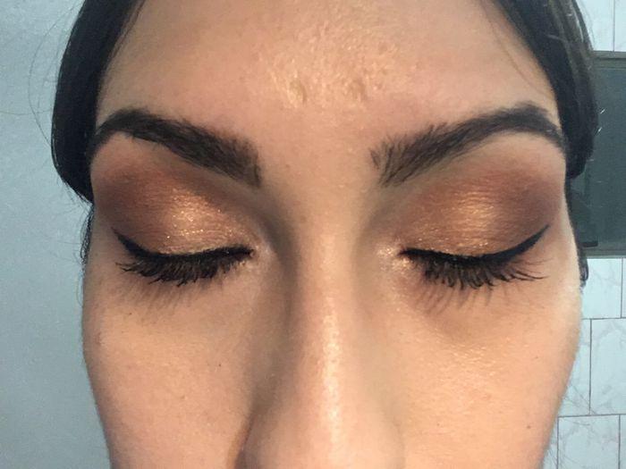 Mi prueba de peinado y maquillaje 2