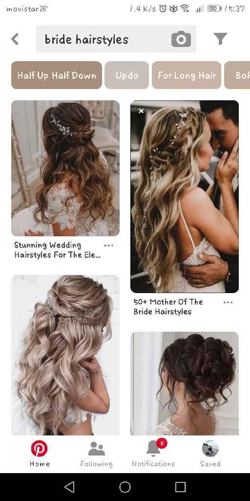 Peinado para novia... busco alternativas - 1