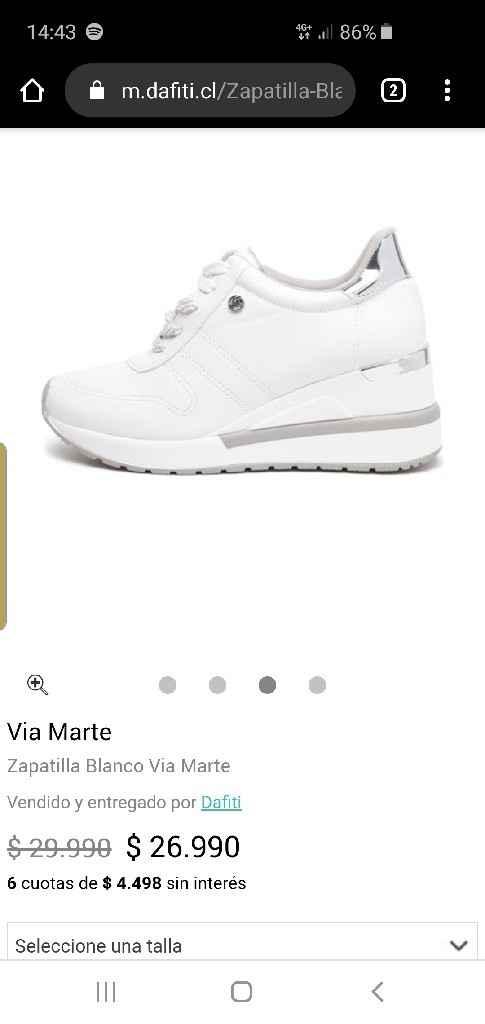 Busco estas zapatillas via marte - 1