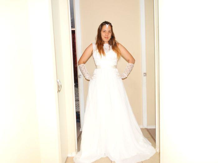 quién ha pedido su vestido de novia en aliexpress o similares?