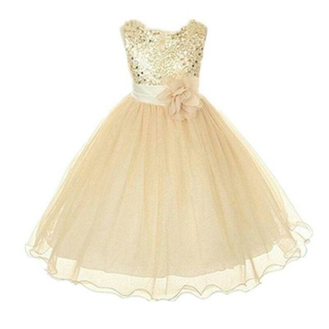 2efe739f2 Vestidos de la niña de las flores o pajecita