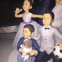 Nuestros novios de torta: maravillosos y personalizados! - 1