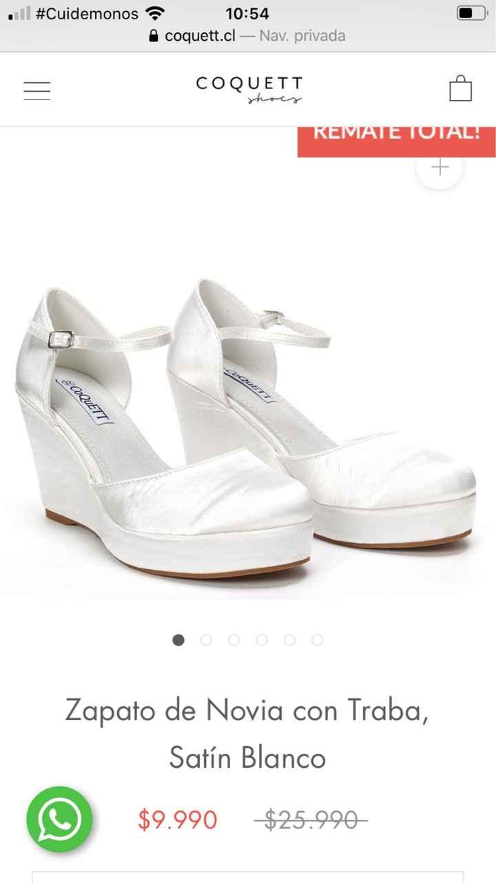 Oferta en zapatos de novia 👰🏼 - 1