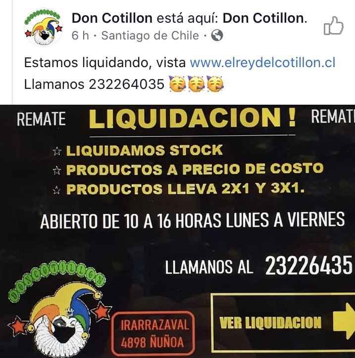 Dato liquidación de cotillón 🎉🥳 - 1
