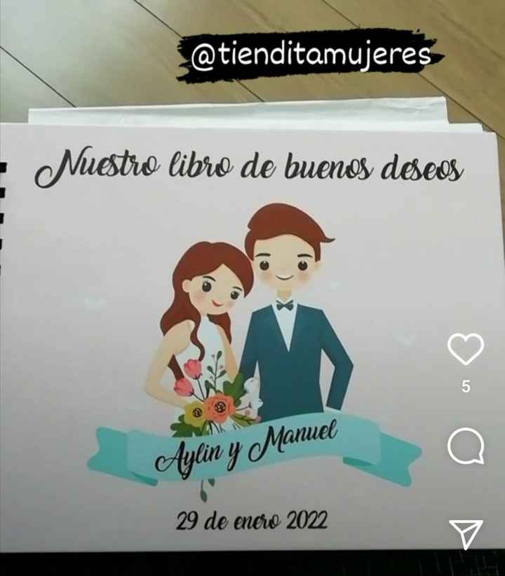 Libro de Buenos deseos - 1