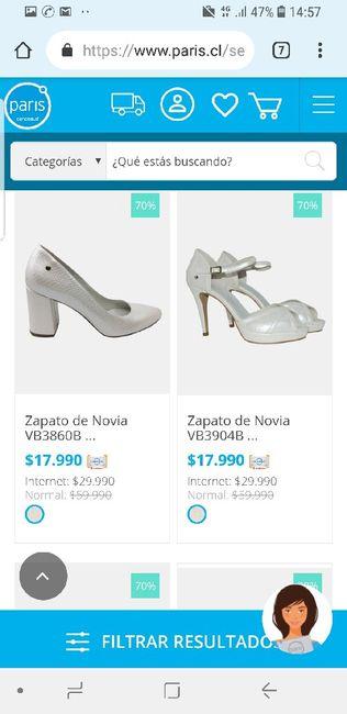Dato zapatos de Novia 2