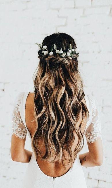 Peinados con flores naturales 2