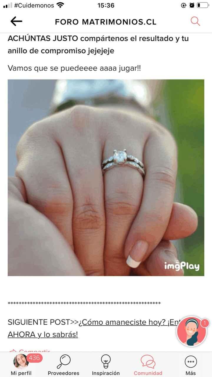 Achúntale al anillo y...¡compártenos el TUYO!💍 - 1