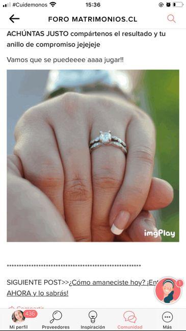 Achúntale al anillo y...¡compártenos el TUYO!💍 6