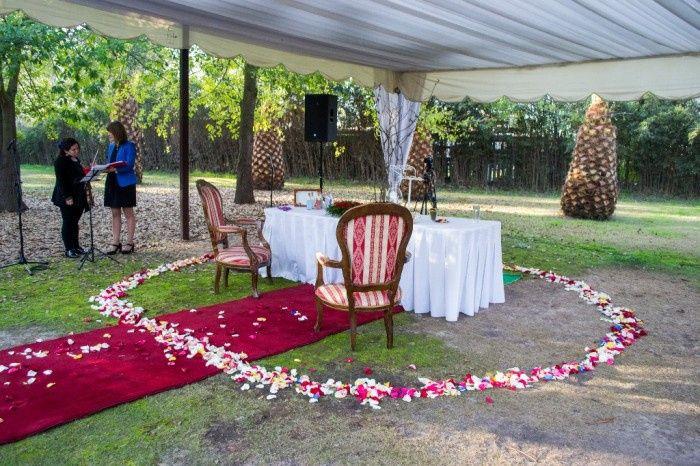 Nuestra boda y proveedores, Calera de Tango - Stgo 8