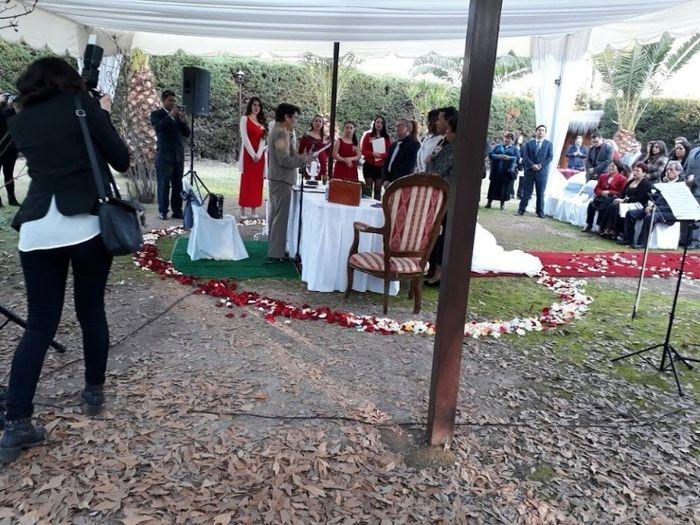 Nuestra boda y proveedores, Calera de Tango - Stgo 25